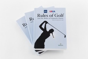 The 2016 Rules of Golf book. Picture by USGA/Jonathan Kolbe