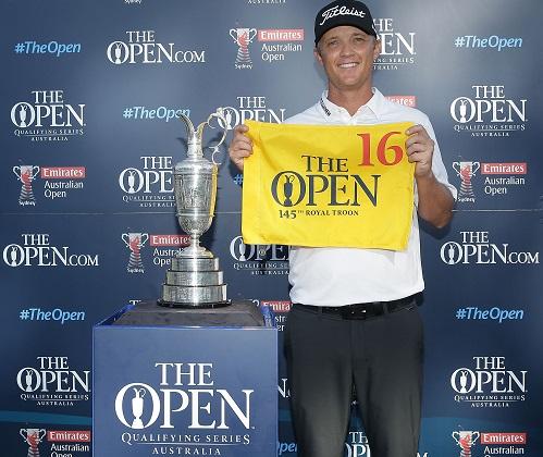 Australian Open champion Matt Jones has qualified for next year's Open Championship.