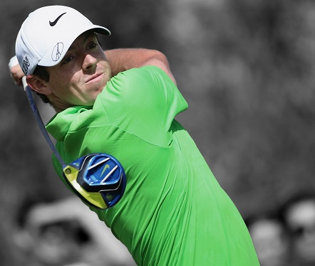 Rory McIlroy in action at the DP World Tour Championship in Dubai. Picture by Andrew Redington/Getty Images