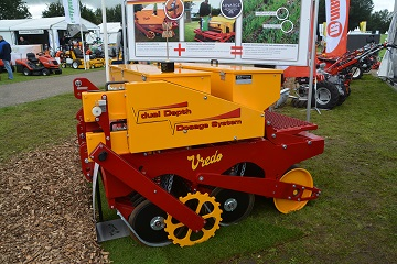 low Vredo Sport Series Dual Dosage Overseeder from Campey Turf Care Systems