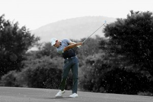 Charl Schwartzel on his way to victory in South Africa. Picture by Jan Kruger/Getty Images