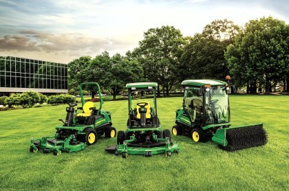 John Deere 1500 Series Terrain Cut mowers