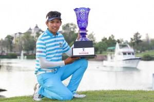 Phachara Khongwatmai triumphed in the ADT's season-ending event.