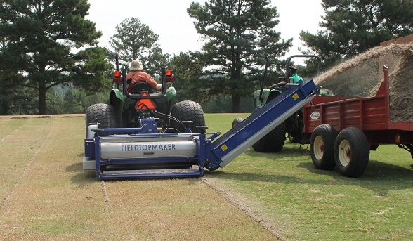 Campey at STMA GIS with the Koro Field TopMaker LOW