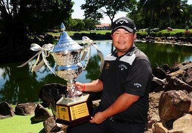 Namchok Tantipokhakul ended his winless streak at the Sabah Masters.