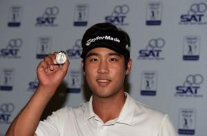 Chang Yik-eun topped the class at Qualifying School. Picture by Paul Lakatos/Asian Tour.