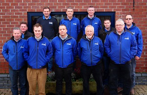 The Campey Turf Care Systems team.