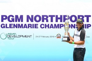 Gavin Green triumphed at the PGM Northport Glenmarie Championship. Picture by Arep Kulal/PGM Tour/Asian Tour Development