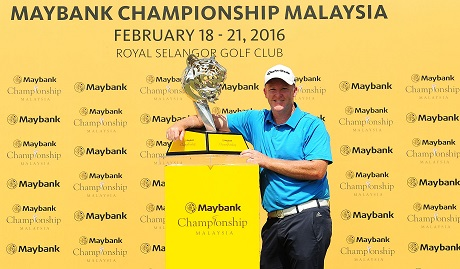 Marcus Fraser ended a six-year title drought in Kuala Lumpur.