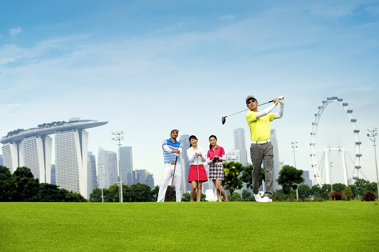 Marina Bay will boast Singapore's first par-six.