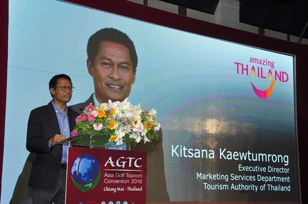 Kitsana Kaewtumrong, Tourism Authority of Thailand Executive Director Marketing Services Department.