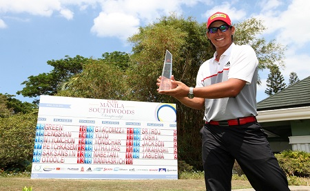 Gavin Green triumphed at Manila Southwoods.