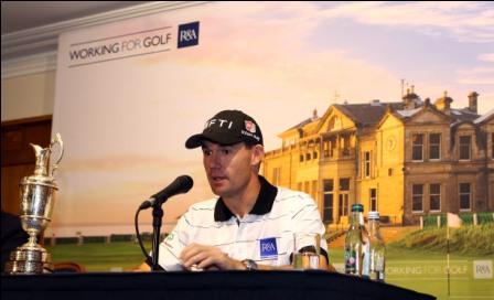 Padraig Harrington support's The R&A's nine-hole initiative.