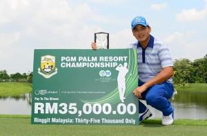 Sutijet Kooratanapisan savoured success in Malaysia.