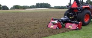 MT200 tractor mounted Flex Verticutter.