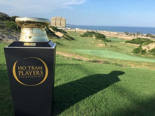 The Ho Tram Players Championship Trophy low