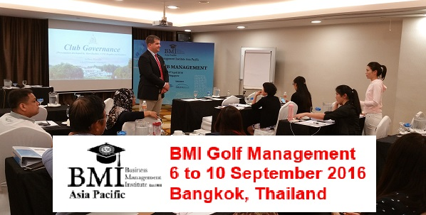 Coming – BMI Golf Management – 6 to 10 September