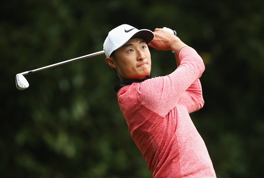 Li Haotong will represent China at next month's Olympic Games. Picture by Getty Images