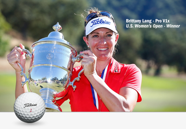 Brittany Lang claimed her first Major title.