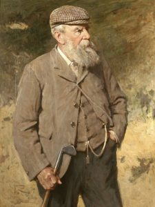 Old Tom Morris. Picture by kind permission of The Royal and Ancient Golf Club of St Andrews.