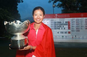 Tiffany Chan won last year's Hong Kong Ladies Open. Picture by Daniel Wong.