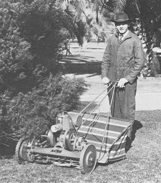 Oscar Jacobsen founded the company in 1921 and released the 4-Acre Mower.