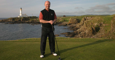 Paul Burley at Turnberry.