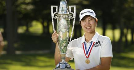 Seong Eun-jeong claimed a dramatic final-hole victory. Picture by Steven Gibbons/USGA