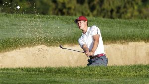 Maverick McNealy is the world's top-ranked male amateur. Picture by Jeff Haynes/USGA