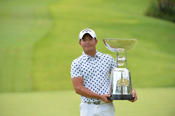 Chan Shih-chang claimed the biggest win of his career.