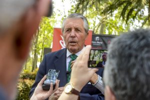Gary Player during a press conference in Johannesburg. Picture by Sydney Seshibedi/Gallo Images