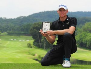 Oskar Arvidsson triumphed at the TPC Kuala Lumpur, Picture by Arep Kulal/PGM Tour