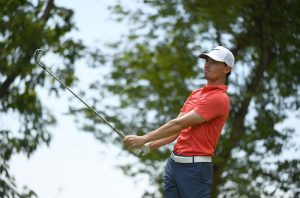 Paul Peterson was named as the Hilton Asian Tour Golfer of the Month for August. Picture by Asian Tour/Khalid Redza