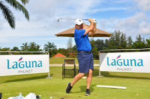 Sir Nick Faldo conducted a clinic during a recent visit to Laguna Golf Phuket, venue for this week's Faldo Series Thailand Championship (South).
