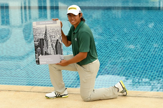 Gavin Green was named Asian Tour Hilton Golfer of the Month.