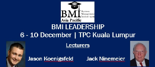 BMI Leadership @ December 2016 in Kuala Lumpur