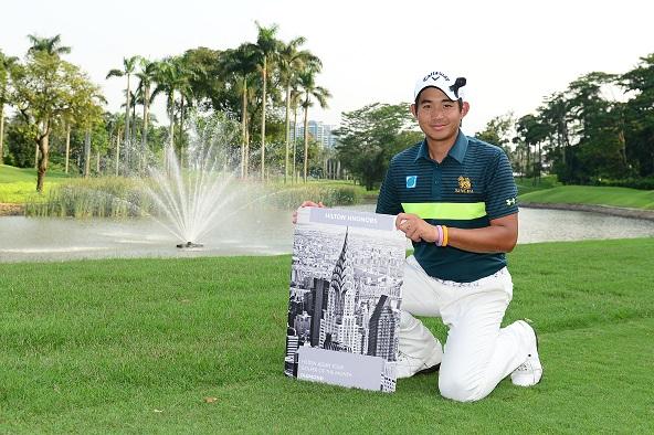 Pavit Tangkamolprasert has been named Hilton Asian Tour Golfer of the Month.