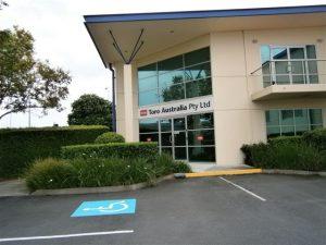 Toro's Brisbane office hosted Arjun Yadav.