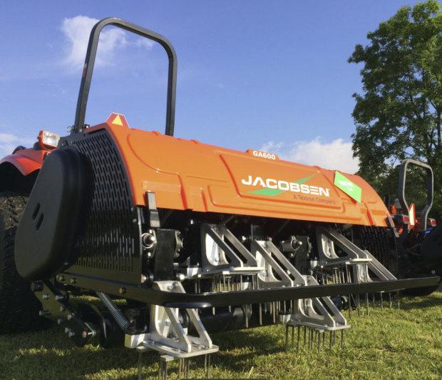 Jacobsen's GA600 aerator.
