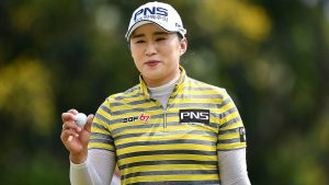 Amy Yang triumphed for the second time in three years in Pattaya. Picture by LPGA Tour.