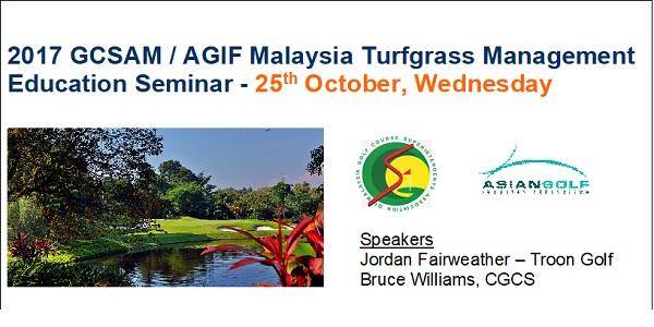 Malaysia seminar @ 25 October 2017 – Registration Opens!