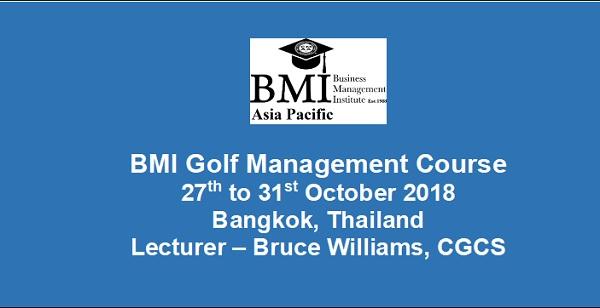 BMI Golf Management @ Bangkok