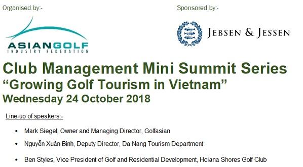 Club Management Mini Summit in Hanoi